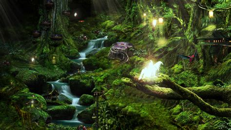 Buy Wall Mural pixie forest by graphxntrix on deviantart
