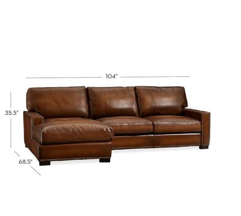 sectional leather sofas with chaise turner square arm leather sofa with chaise sectional with