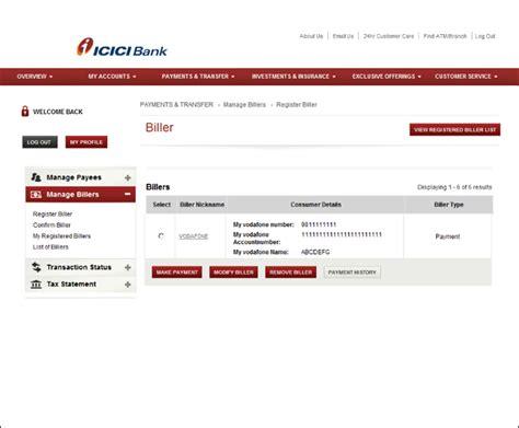 make icici credit card payment icici credit card payment through neft infocard co