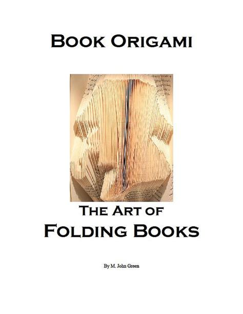 how to do book origami book origami the of folding books instant by