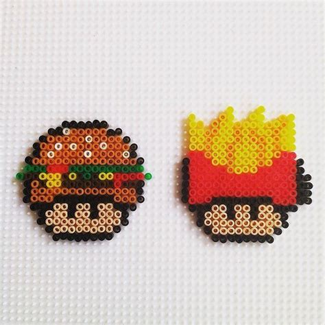 hama food 17 best images about perler bead on