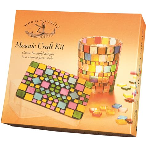 kits for mosaic craft kit house of crafts