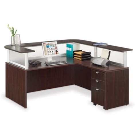 l shaped receptionist desk neoterik l shaped reception desk 79 quot w officefurniture