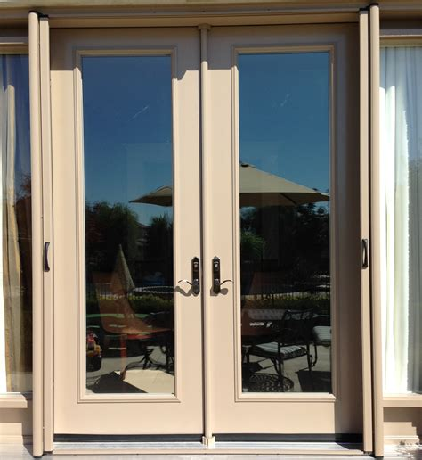 patio doors with screen retractable screens