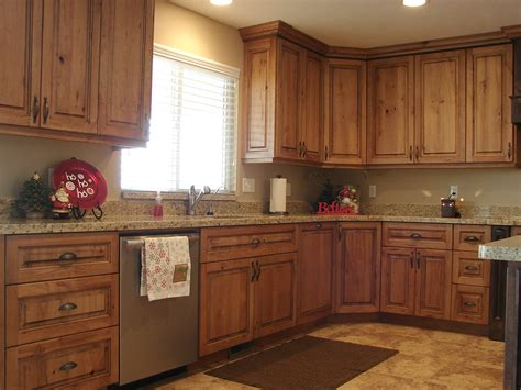 Cherry Cabinets by Lec Cabinets Rustic Cherry Cabinets