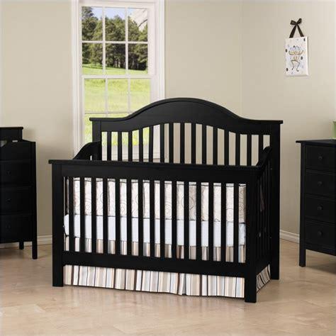 baby cribs black davinci 4 in 1 convertible wood baby crib w