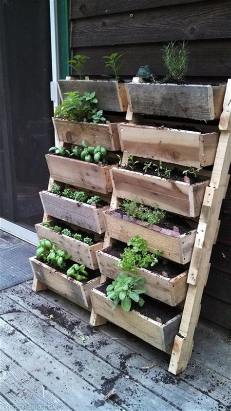 pallet planter box plans 8 rev pallet ideas for outdoors pallet furniture plans