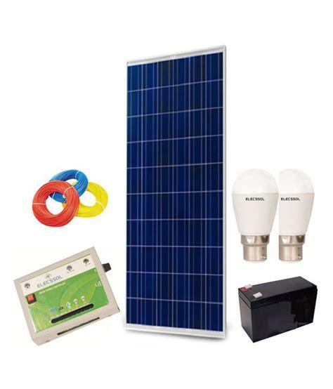 solar light system for home elecssol elecssol solar home lighting system model 1