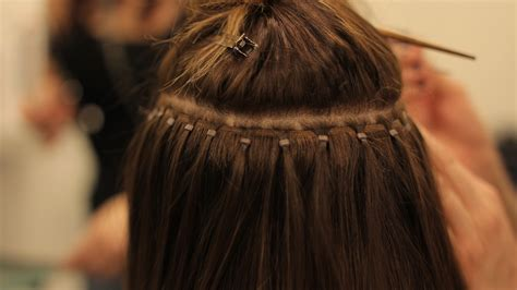 micro bead extensions falling out hair extensions diminishing the difference between the