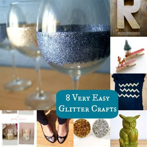 glitter craft projects 8 glitter diy projects that are easy