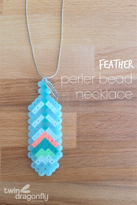 perler bead jewelry patterns feather perler bead necklace 187 dragonfly designs