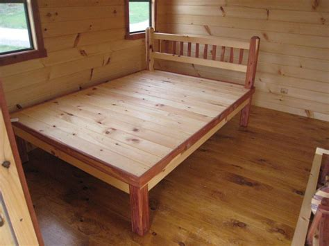 built in bed frame trophy amish cabins llc 10 x 16 promotion 160