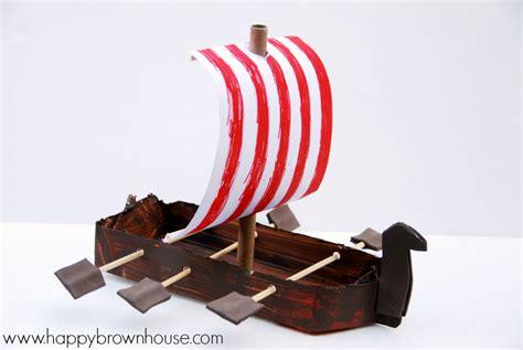 viking crafts for to make viking ship craft for