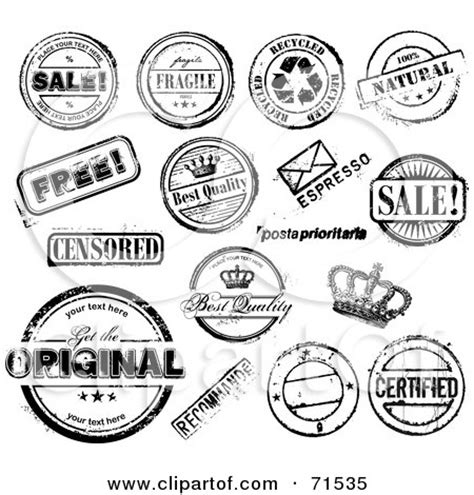 craft rubber st companies royalty free rf clipart illustration of a digital