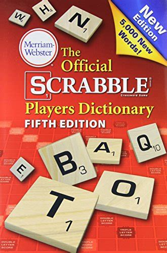 the official scrabble players dictionary merriam webster buy special books the official scrabble players