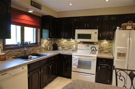 black oak kitchen cabinets stained oak kitchen cabinets quicua