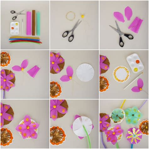 how to make easy paper craft step by step 20 best images about pretty paper napkin flowers on