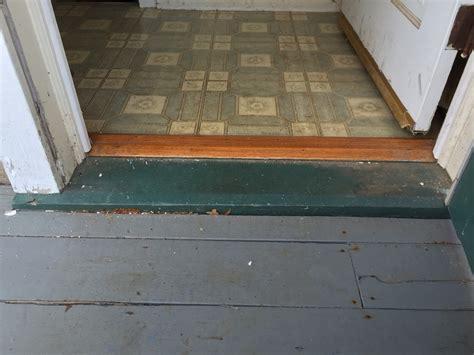 wooden exterior door sills replacement replacing original 1950s exterior door with