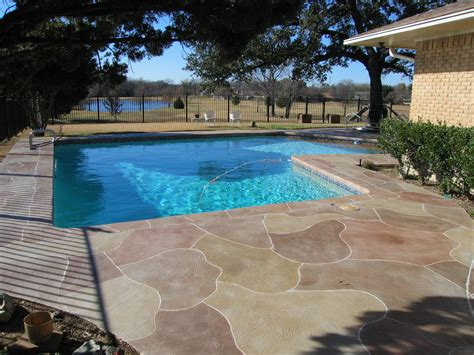 pool and patio designs sted concrete driveway patio design ideas everything