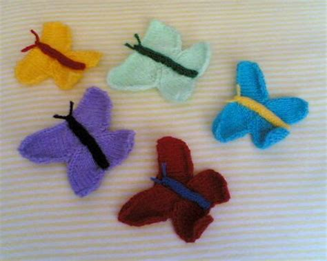knitted butterfly knitting galore knitted butterfly motif tutorial