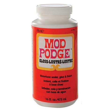 decoupage gloss mod podge 16 oz gloss decoupage glue cs11202 the home depot