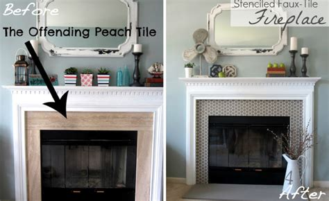 chalk paint fireplace tile before after 15 fireplace surrounds made page 2