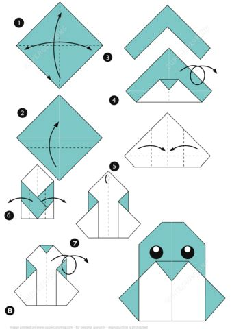 how to craft a paper how to make an origami penguin free