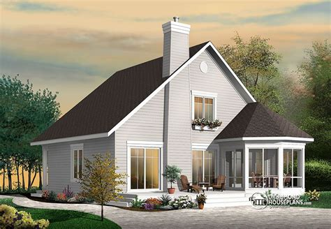a frame style house stunning a frame 4 bedroom cottage house plan drummond