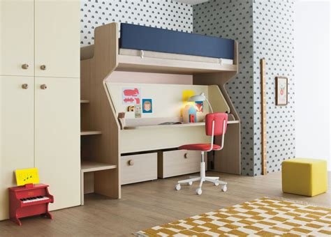 modern bunk bed with desk battistella tippy bunk bed and desk contemporary bunk