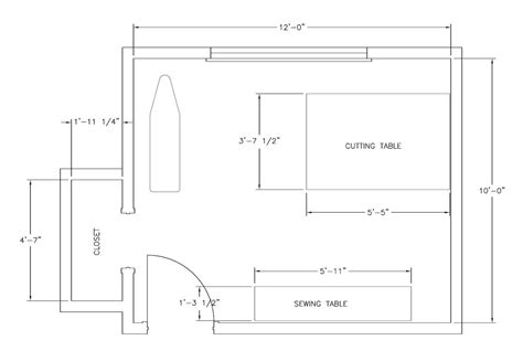 plans room my sewing space the sequel custom style