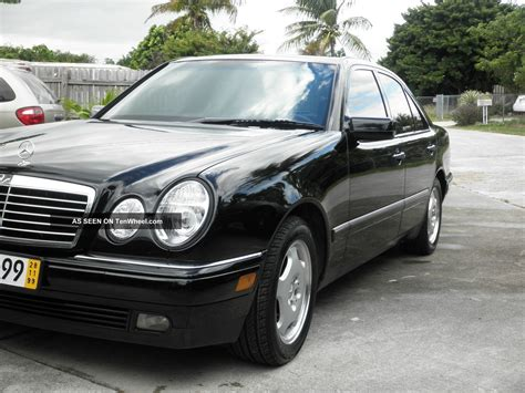 Mercedes E420 by 1997 Mercedes E420 Base Sedan 4 Door 4 2l