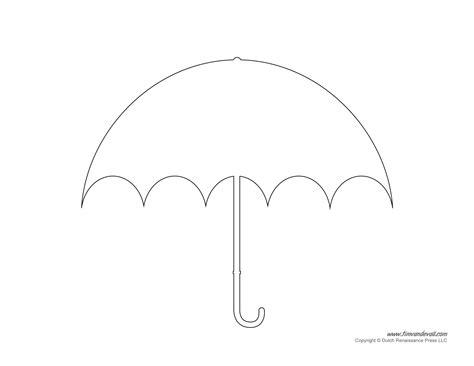 for printable umbrella template printables umbrella decorations