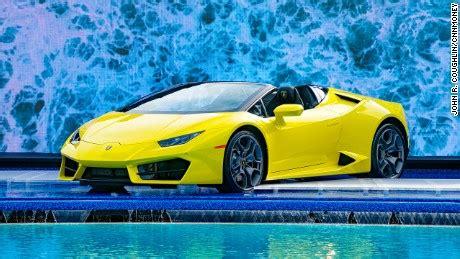 Lamborghini heads off road   CNN Video