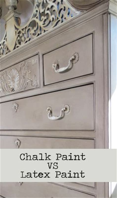 chalk paint vs stain chalk paint vs paint on furniture furniture ideas