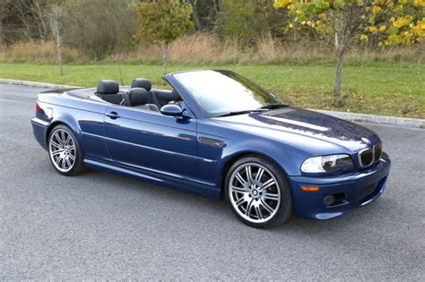 2005 Bmw M3 by 59k Mile 2005 Bmw M3 Convertible 6 Speed For Sale On Bat