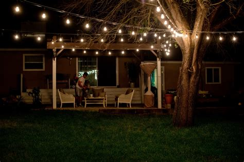 lights for backyard the benefits of outdoor patio lights enlightened lighting