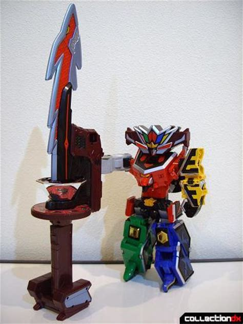 kyoryu origami discussion megazord sword rangerboard