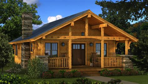 Log Cabin Homes by Bungalow 2 Log Cabin Kit Plans Information