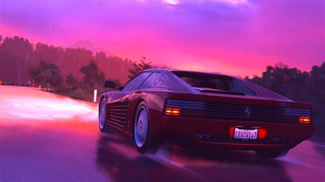 80s Car Wallpaper by Found The Debug Build S Colour Grading Options Decided To