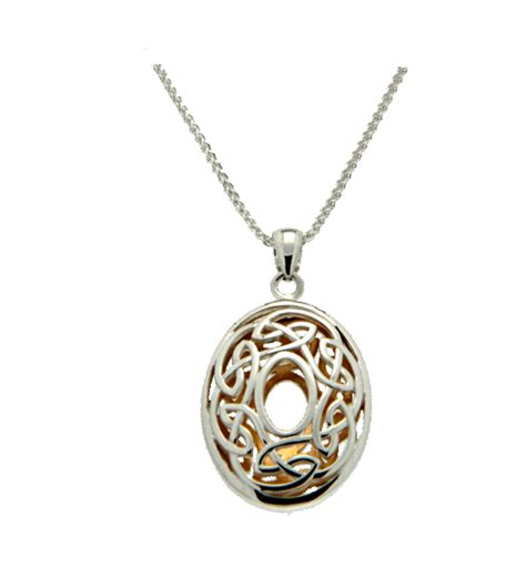 how to make celtic jewelry window to the soul necklace by keith jewelry oval