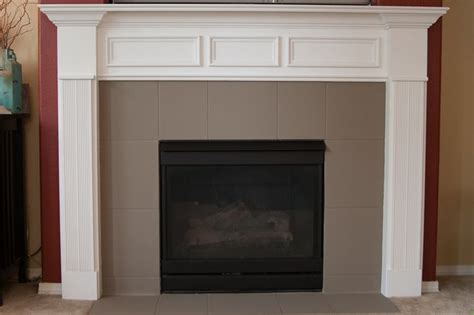 Chalk Paint To Cover Marble Tile Fireplace Mantel