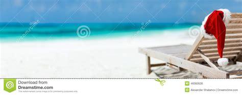 turquoise santa hat vacation stock photo image 46060628