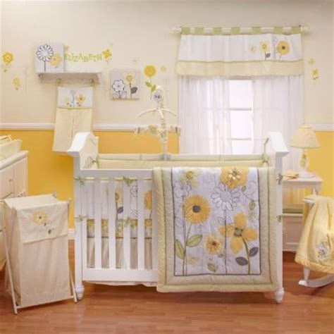 yellow baby bedding nojo bright blossoms crib bedding baby bedding and