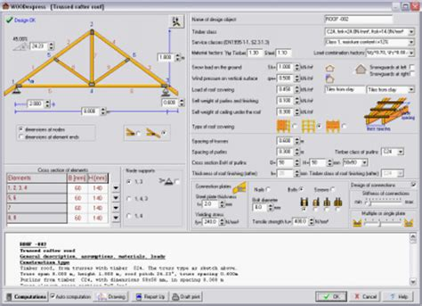 woodworking software free attic truss design calculator quotes