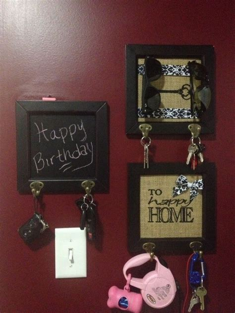 diy chalkboard key holder diy key holder the idea of the chalk paint for