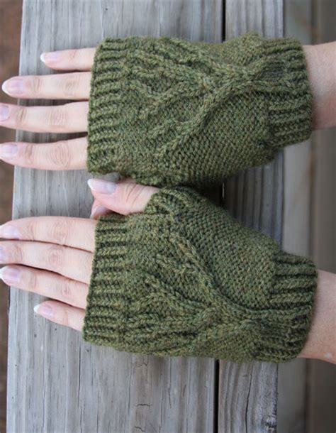 tree of knitting pattern tree of fingerless gloves knitting patterns and