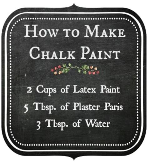 chalk paint to make how to make chalk paint crafts