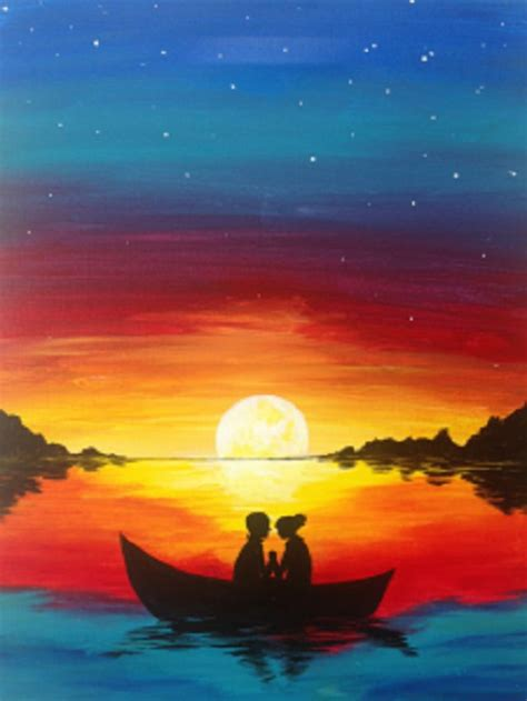 couples paint nite island 25 best ideas about painting on