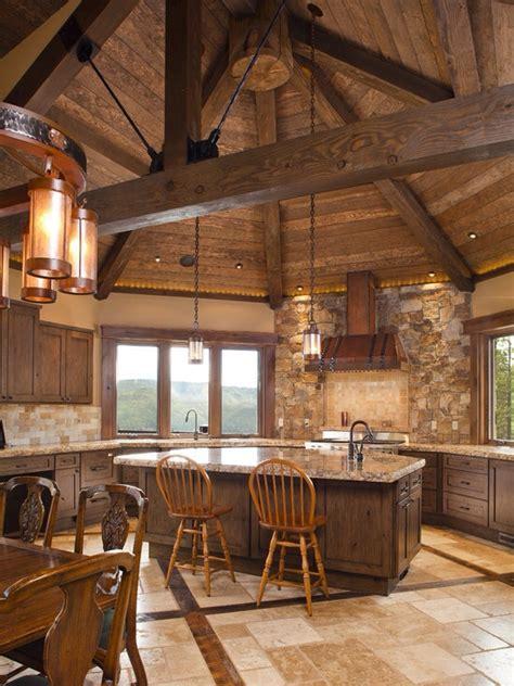 cabin kitchen designs rustic kitchen range hoods