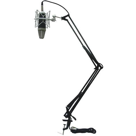desk microphone stand icon mb 03 desk mount scissor style microphone stand microphone stands store dj